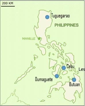 Les 4 Centres Enfants du Mékong aux Philippines
