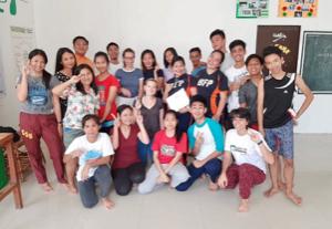 Des étudiants du Centre de Butuan