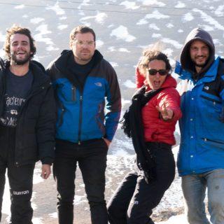 Laurène, Charles, Louis et Tanguy dans leur tuk-tuk