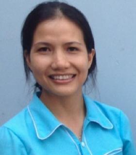 Soeur Cuc, responsable de programme au Vietnam