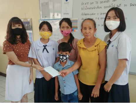 Famille Hmong originaire du Laos