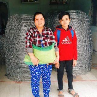 Chanh et sa mère