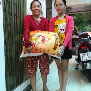 Mguyen thi Thanh Kieu, filleule EDM