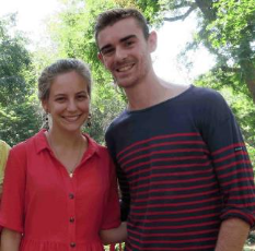 Albane & Benjamin Izarn, volontaires Bambous au Cambodge