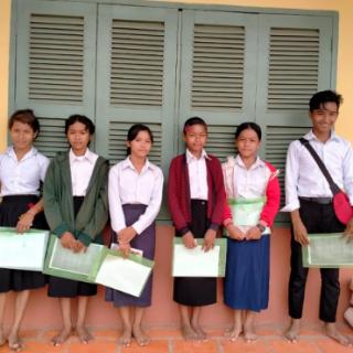 Distributions des cours au Centre de Samrong