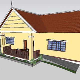 Nouveau bâtiment pour les élèves et professeurs de Sé Soen au Cambodge
