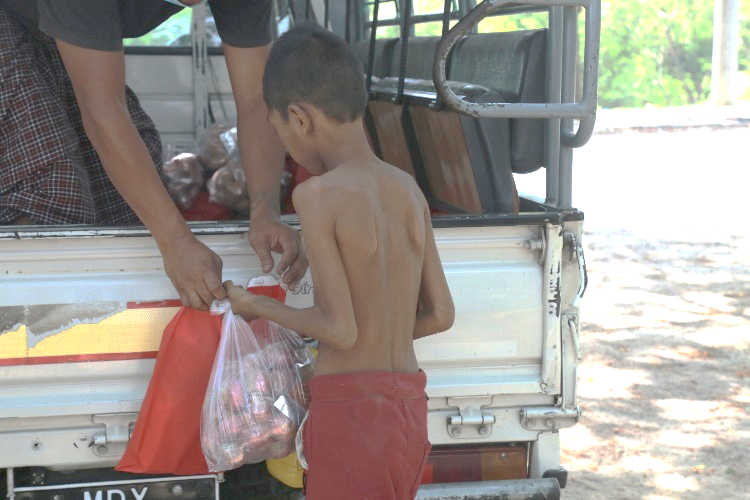 Aide covid aux familles de BIrmanie