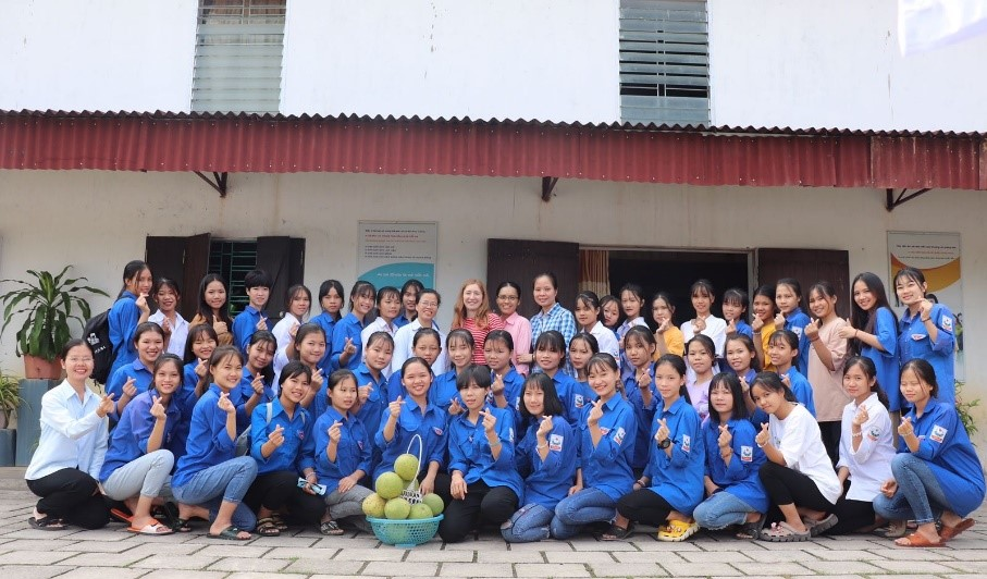 Hermine, volontaire Bambou au Vietnam