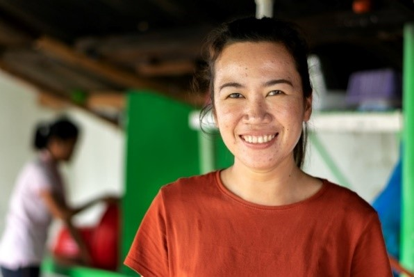 Demi, travailleuse sociale à Dumaguete