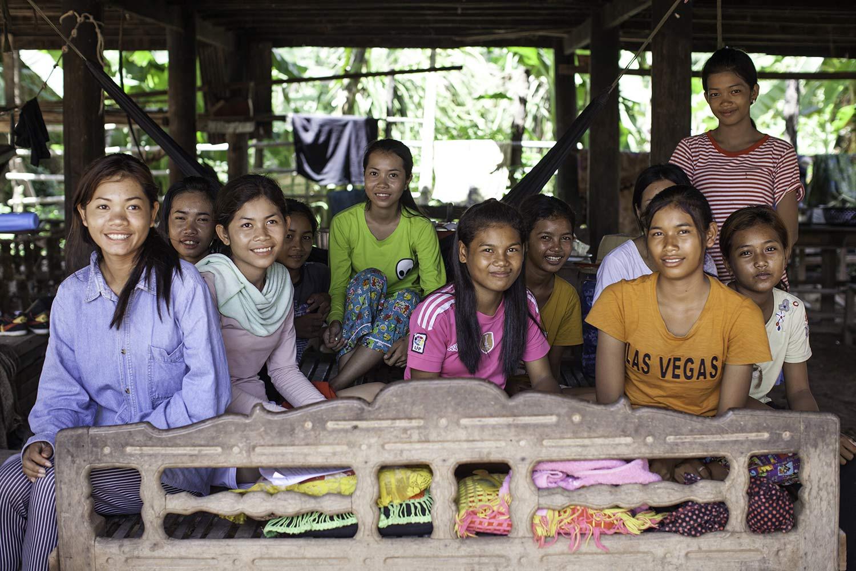 Des internats réservés aux jeunes filles sont mis en place à proximité des écoles par le gouvernement ©Antoine Besson
