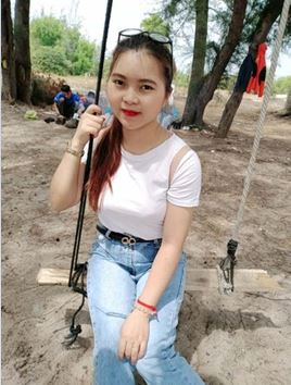 Hong Hanh, filleule à Saïgon