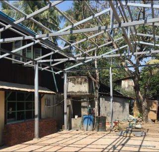 Installation de la structure