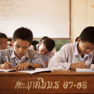 Ces collégiens peuvent désormais étudier correctement ©Antoine-Besson
