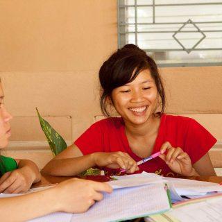 Une collégienne laotienne ©Antoine Besson