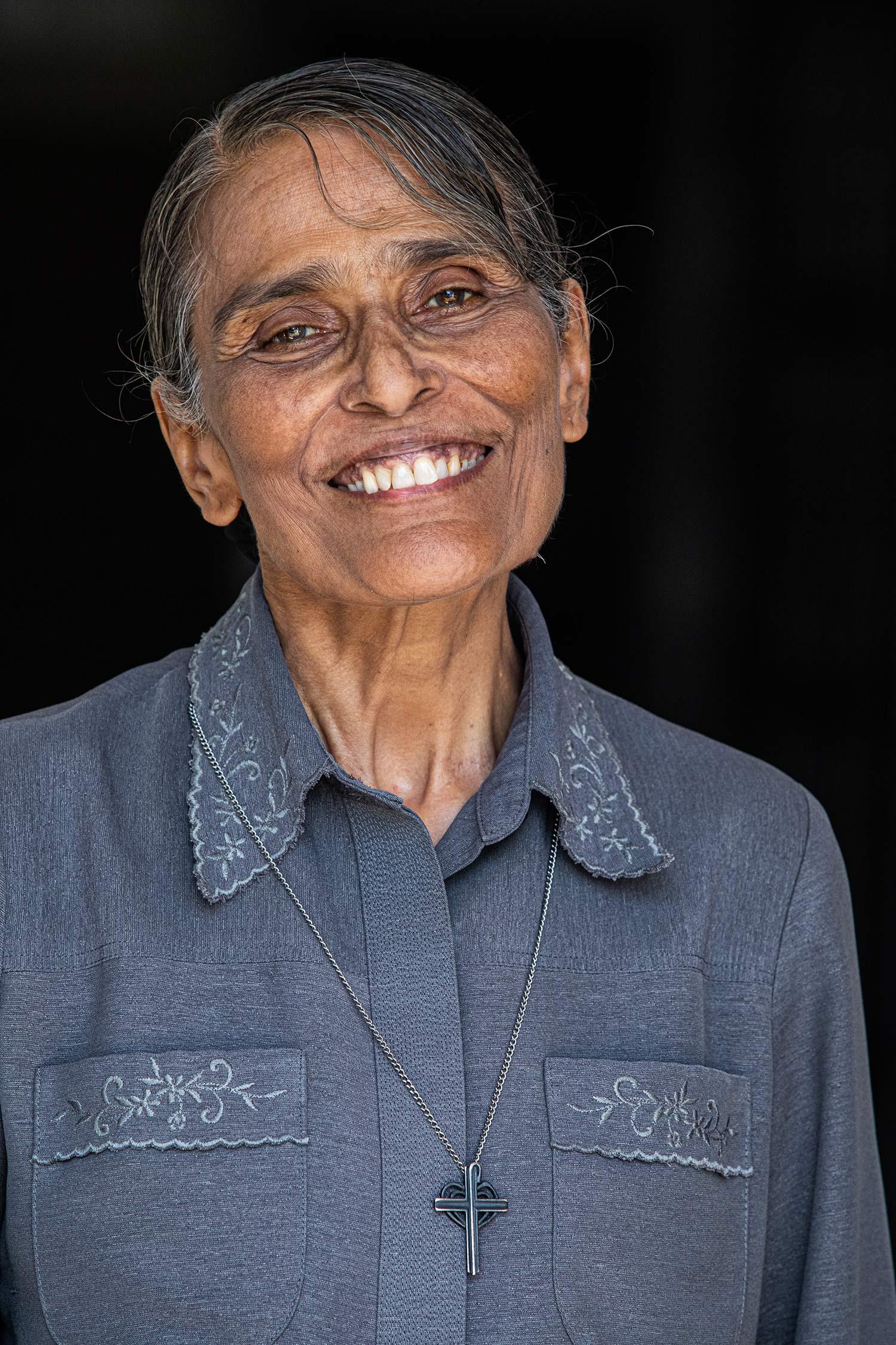 Soeur Michelle se bat pour les femmes et les enfants de Sihanoukville ©Antoine Besson