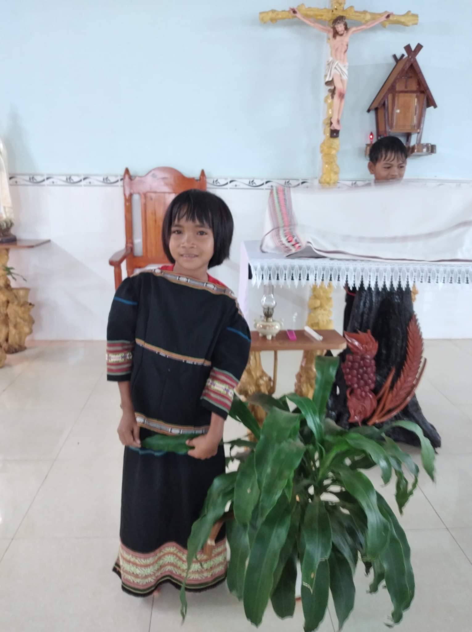 Filleule vietnamienne
