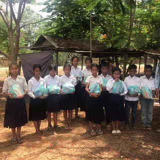 Des jeunes du Centre de Sisophon au Cambodge