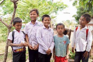 Enfants de retour à l'école - Covid