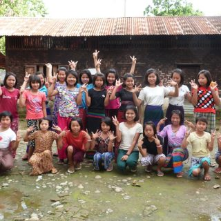 Equipement du foyer des filles de Wai Maw