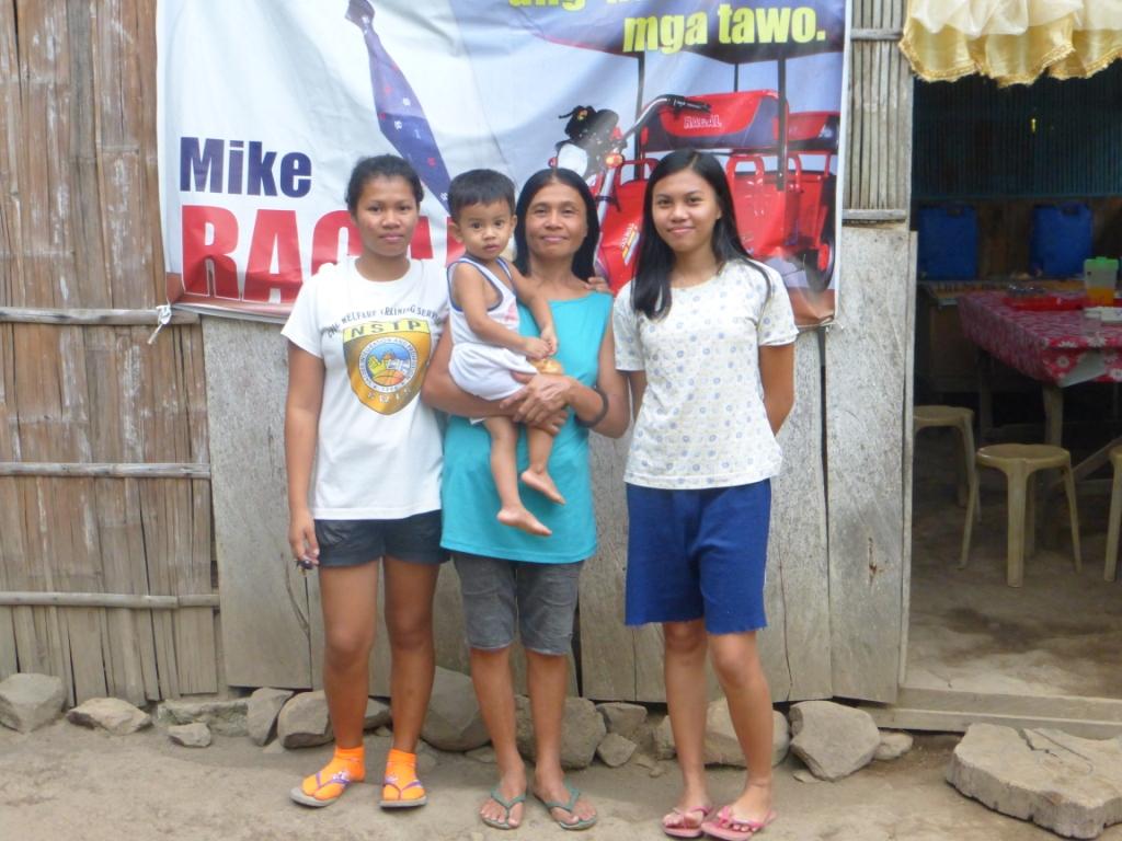 John Lea et sa famille