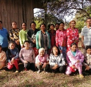 Création de toilettes pour les familles des filleuls de Preah Vihear