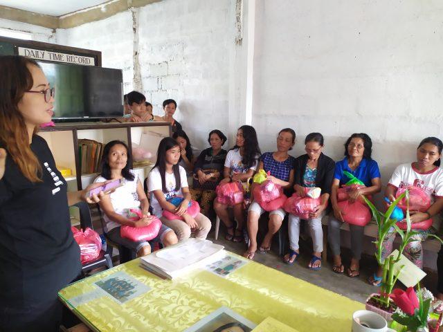 Distribution d'une aide alimentaire