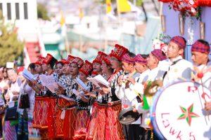 Chanteuses Jingpaw en Birmanie