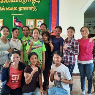 Construction d'un foyer pour les étudiantes du centre de Sisophon