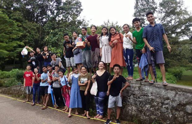 Jeunes du centre de Yangon en 2020