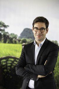 Guillaume d'Aboville, directeur d'Enfants du Mékong