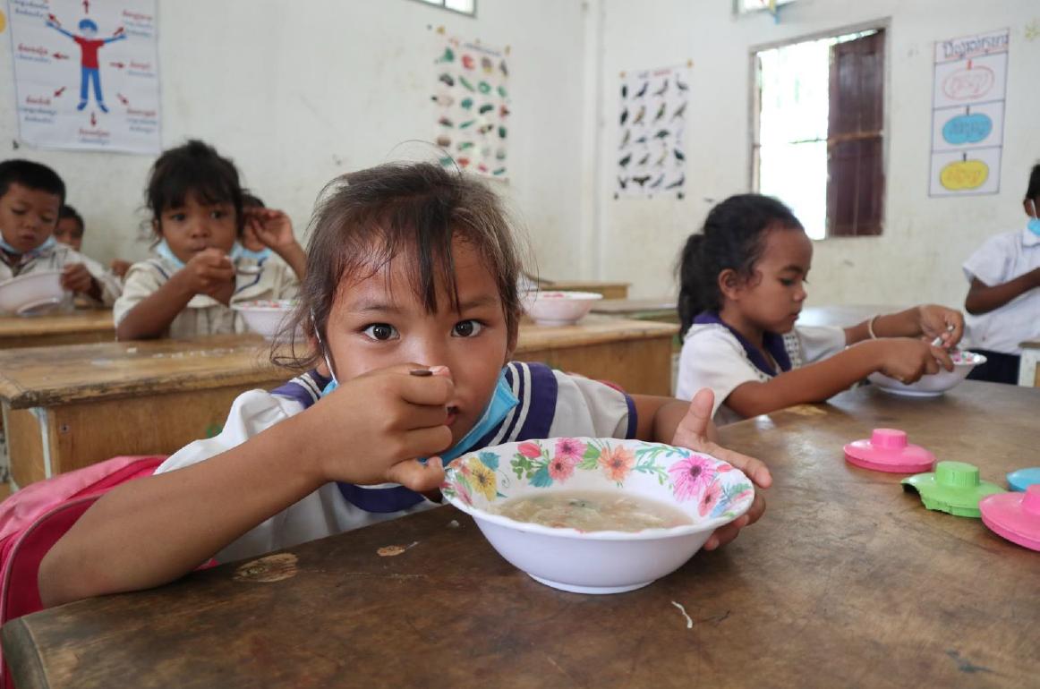 Distributiond de nourriture en Thaïlande pour le projet Covid