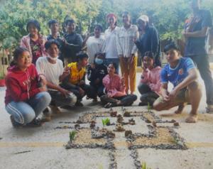 Concours de construction de mini Angkor Wat