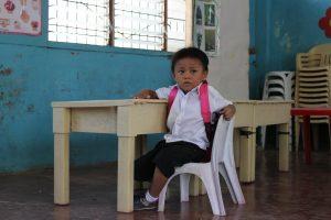 Enfants du Mékong soutient les crèches des bidonvilles animées par Share A Child.