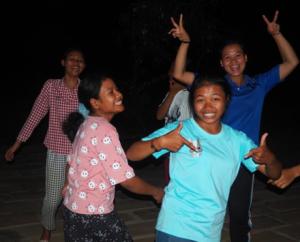 Jeunes de Samrong