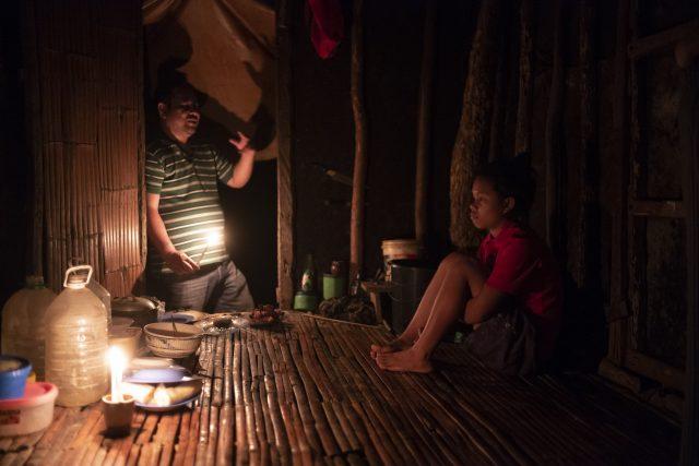 Chez un filleul du programme de Tap Tap dans les montagnes de Cebu City