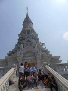 Les étudiants de première année découvrent Oudong, ancienne capitale du Cambodge