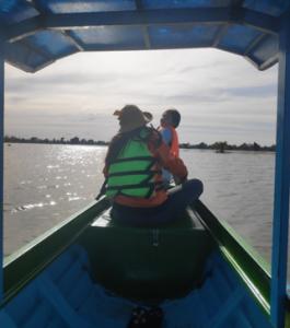 Nous avons fêté le bac des grades 12 - journée bateau pour l'occasion