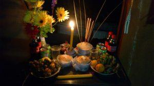 Le repas pour l'Ange