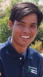 Sopheap TES, travailleur social au centre de Samrong