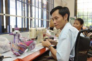 Atelier couture à la Maison Chance au Vietnam