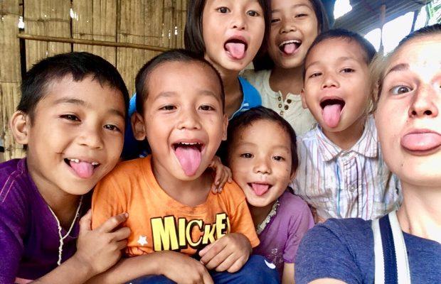 Enfants en Thailande