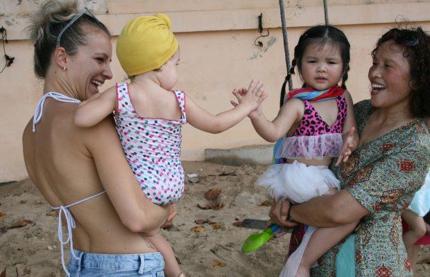 Aurélie, marraine Enfants du Mékong
