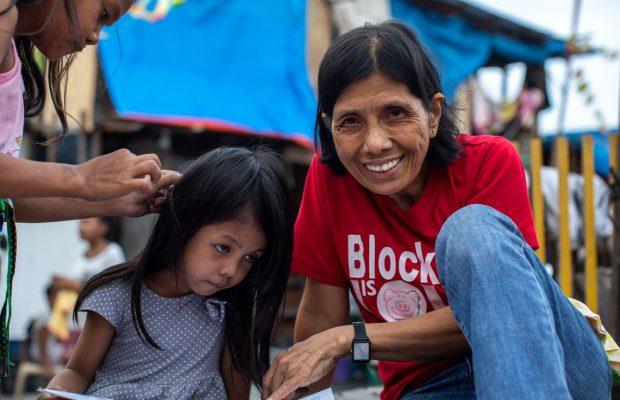 Mam'Percy dans les bidonvilles de Manille
