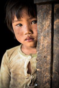 Enfant dans la région de Kengtung, à l'est de la Birmanie