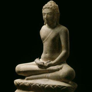 La dhyanamudra Geste de la méditation et posture assise (virasana)
