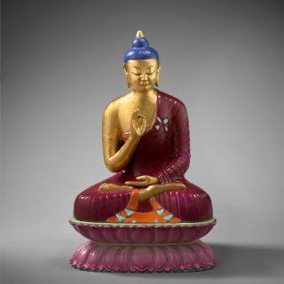 La vitarkamudra Geste de l'argumentation et posture assise (padmasana)