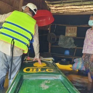 Inondation Cambodge