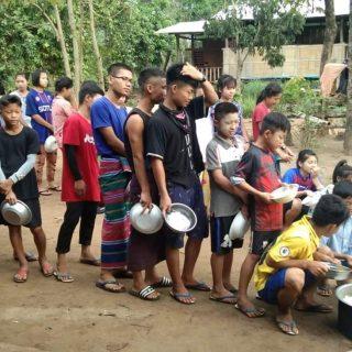 Soutien d'urgence pour les enfants de l'école d'Oo Moo Ta